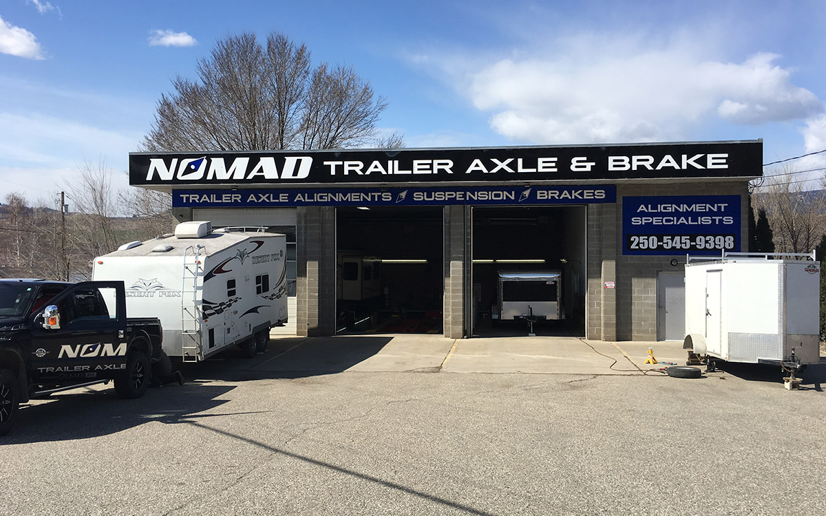 Nomad Trailer Axle & Brake